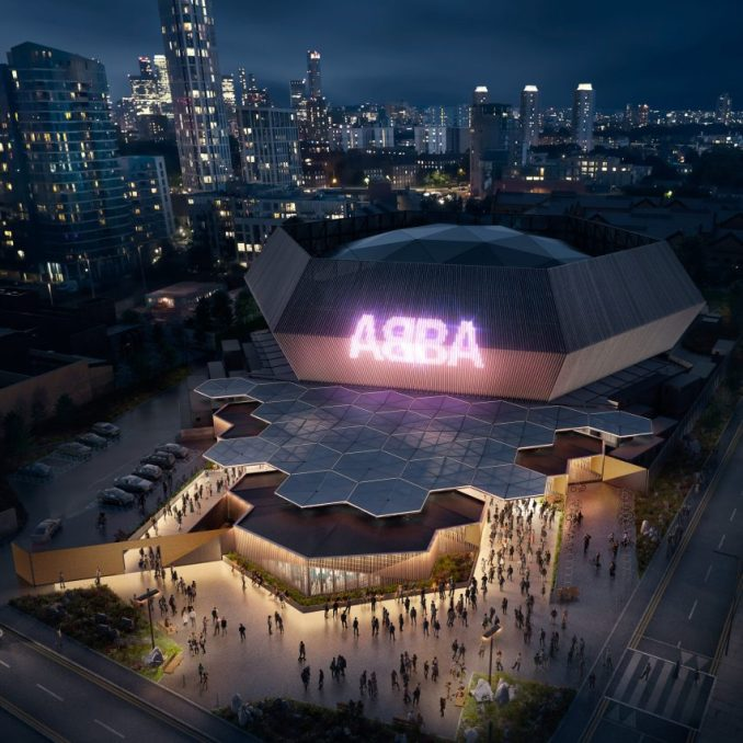 ABBA arena by Stufish in Queen Elizabeth Olympic Park