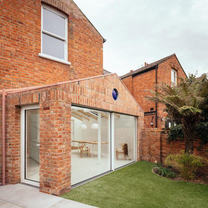 A brick London house extensoon