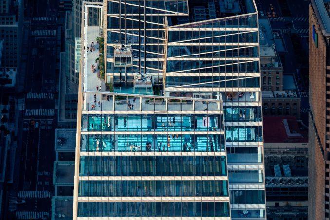 Aerial view of Summit One Vanderbilt