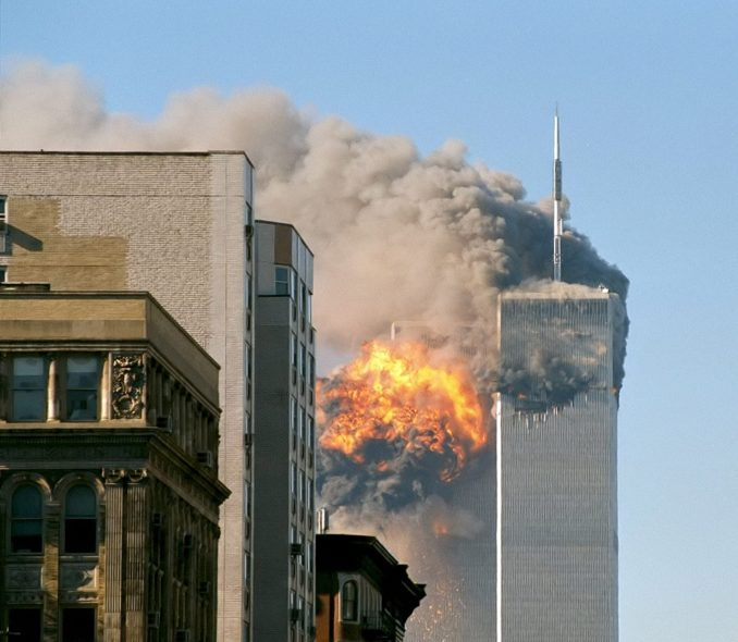 The Twin Towers attacks on 9/11
