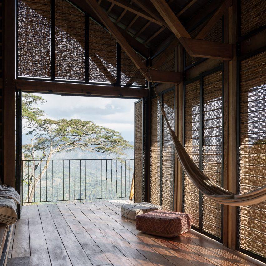 Woven House bySantiago Pradilla and Zuloark