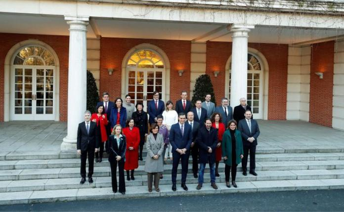The coalition starts with its first Council of Ministers