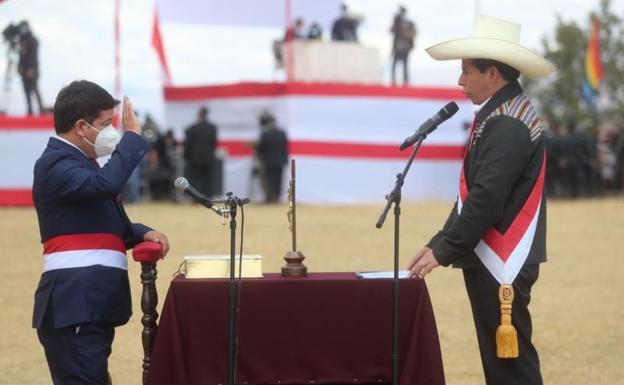 Castillo elects Congressman Guido Bellido as Prime Minister of Peru.