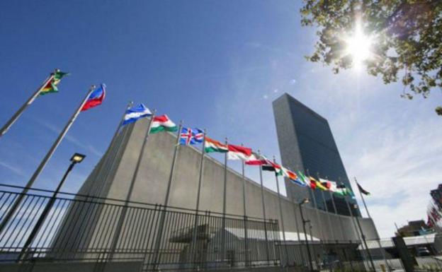 United Nations Headquarters, in New York.