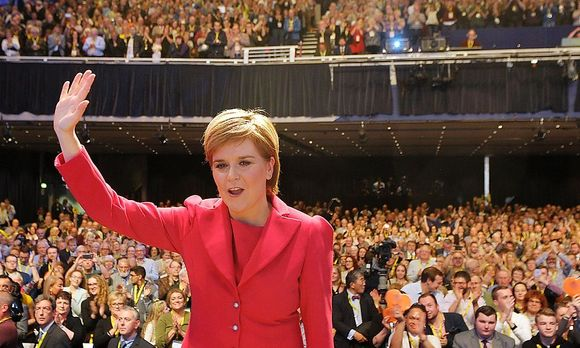Nicola Sturgeon / Bild: APA/AFP/ANDY BUCHANAN