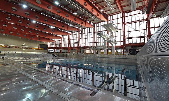 Archivbild: Das Wiener Stadthallenbad / Bild: APA/HERBERT NEUBAUER