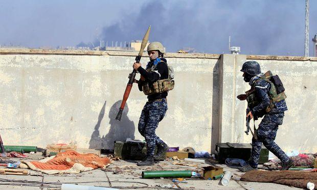 Sicherheitskräfte in Mossul – (c) REUTERS (ALAA AL-MARJANI)