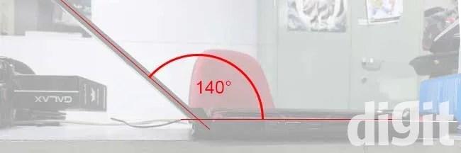 Acer Nitro V AN515-51 lid angle