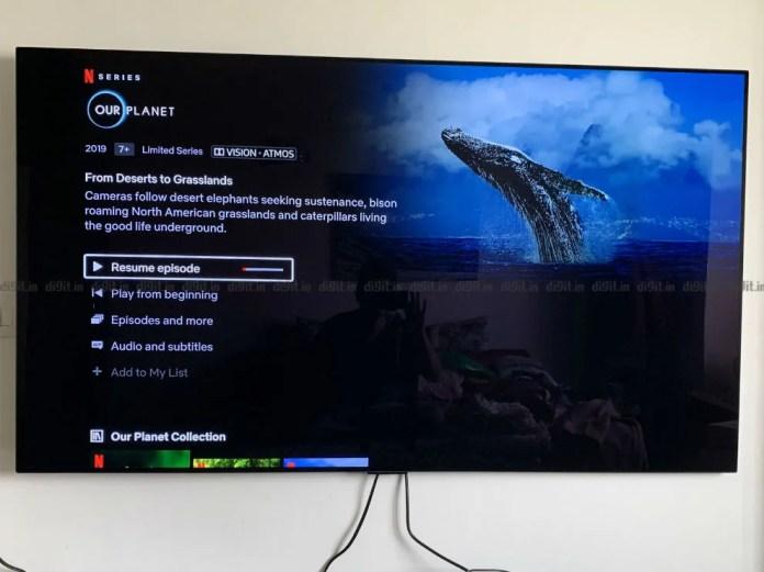 O LG GX suporta 4K, HDR, Dolby Vision e Dolby Atmos.