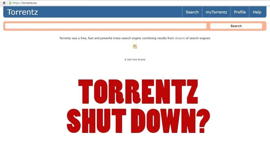 Has Torrentz.eu permanently shutdown?