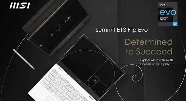 MSI Summit E13 Flip Evo