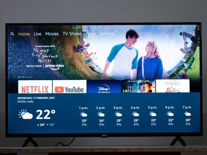 Alexa funciona muito bem na edição FHD Fire TV Akai de 43 polegadas.