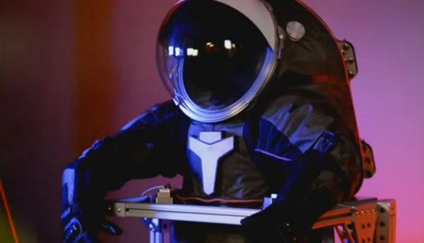 The NASA Z2 prototype spacesuit looks quite futuristic