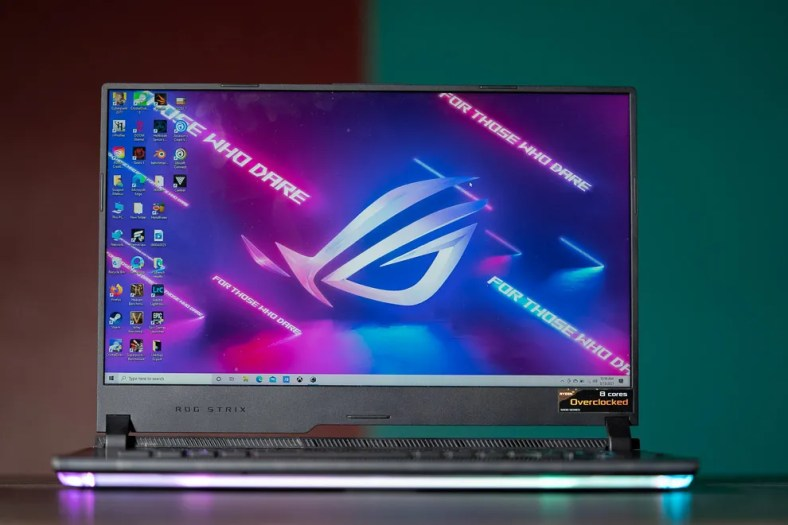 The Asus ROG Strix Scar 15 packs some of the most powerful hardware from both AMD and Nvidia