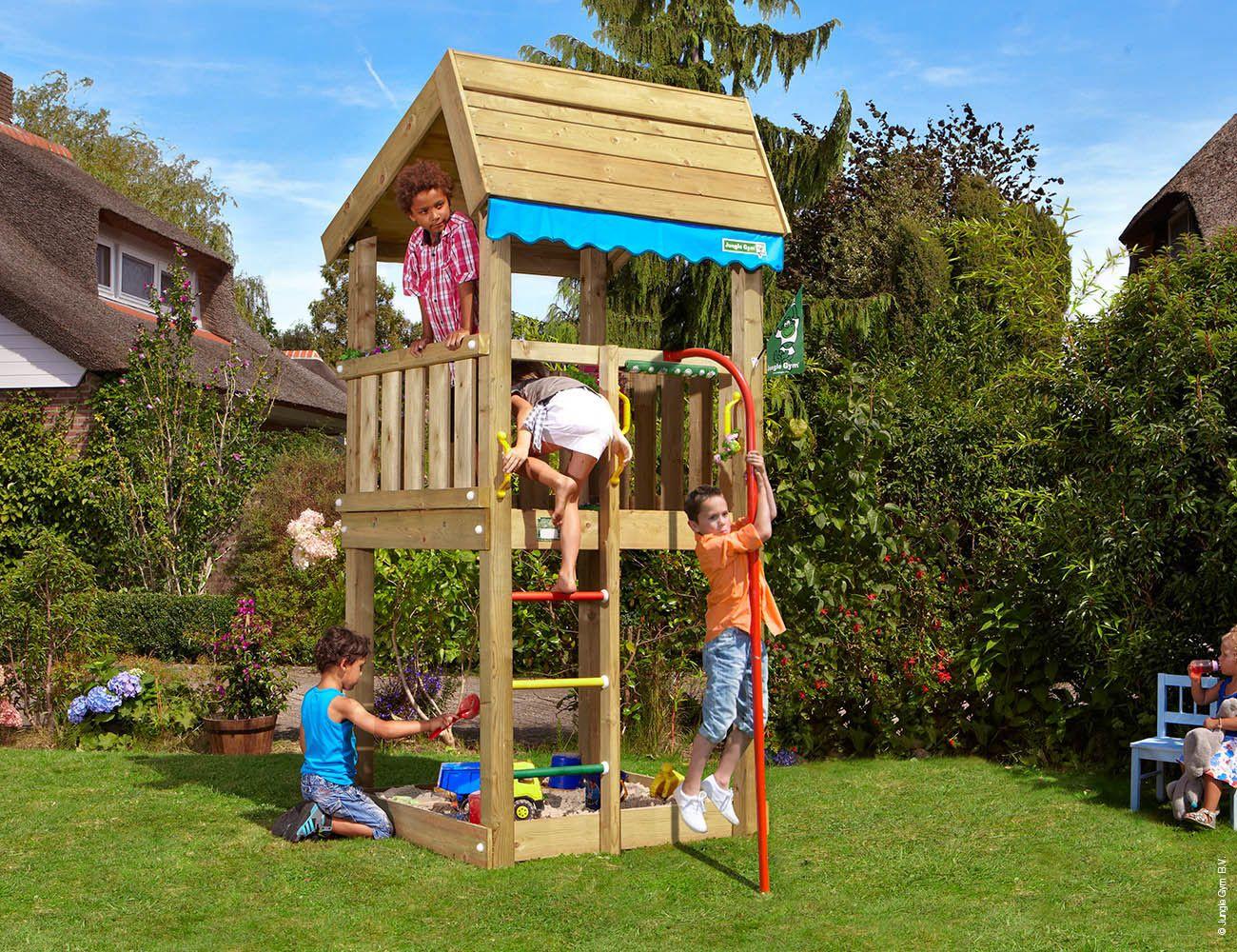 Jungle Gym Spielturm Home Fireman&39;s Pole   Galaxus