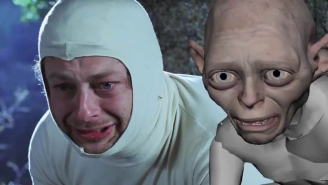 And cut! Andy Serkis scrabbled around in the dirt to play Gollum and  deserved an Oscar - digitec