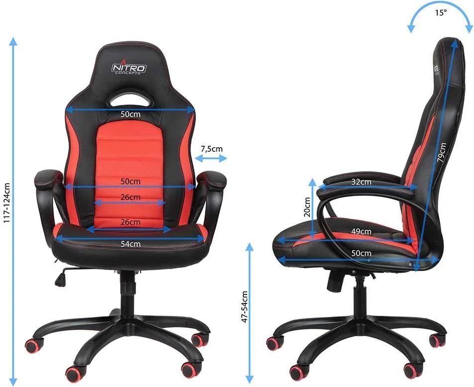 Nitro Concepts C80 Pure Gaming Stuhl - Galaxus
