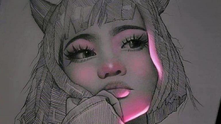 Рисунки с молив, които тайнствено флуоресцират | Impressio ...