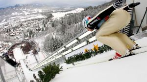 Sports on TV (a lot of football and a legendary show in ski jumping with a Bulgarian in it)