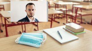 Математик: 50 000 откривания не са поставени под карантина, връщането в клас е огромен риск