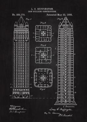 Architecture Blueprint Posters Art Prints Wall Art Displate