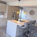 High Gloss Grey Gloss Real Kitchens