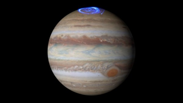 Watch: Jupiter puts on a `light show` for NASA's Juno