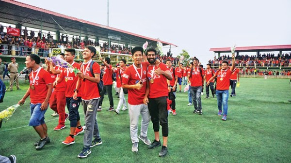 Aizawl's dream is AIFF's nightmare