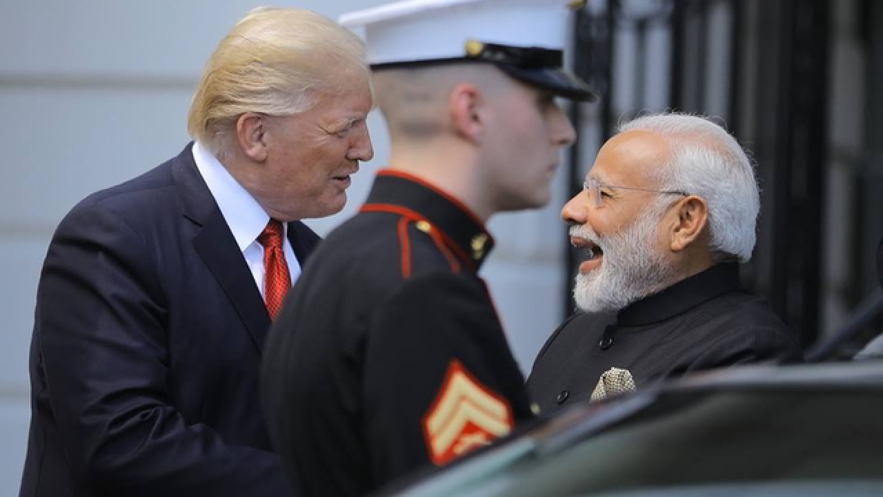 Image result for pics of trump and Modi