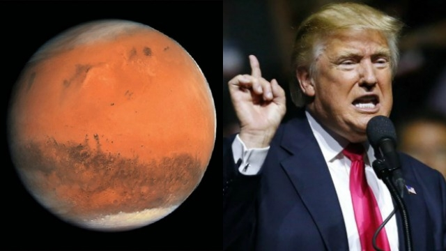 Image result for trump mars