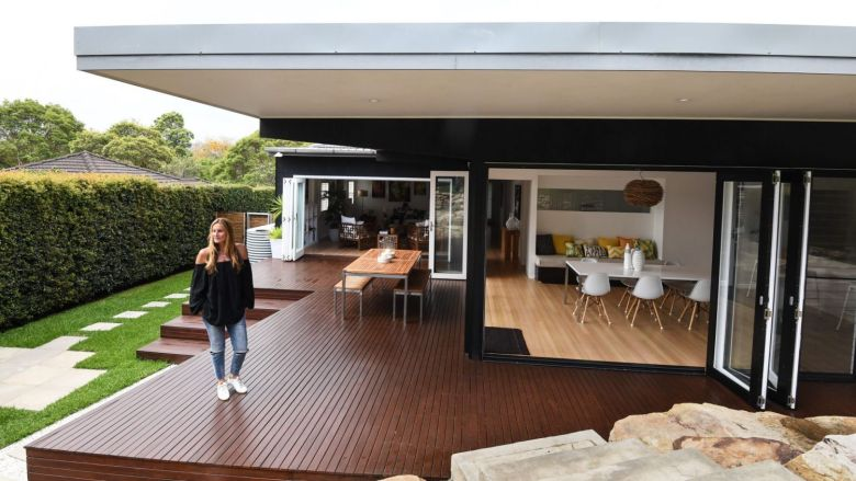 Raphaele Reponty believes that the lifestyle of the northern beaches will attract plenty of bidders to the auction of her four-bedroom home.