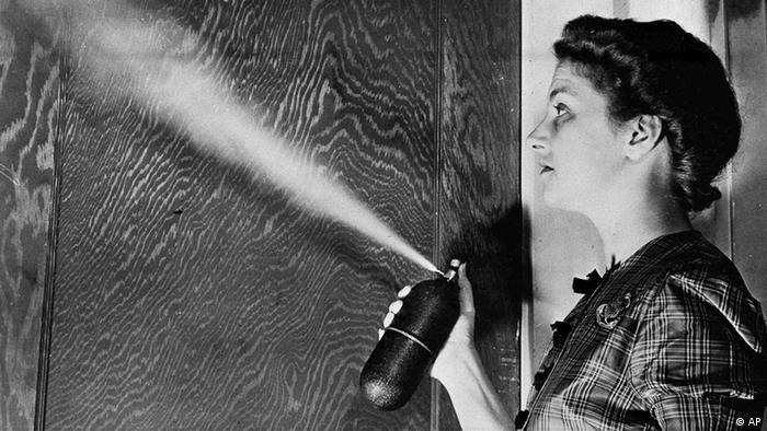 DDT Aerosol als Insektenspray