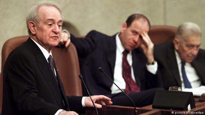 Former Federal President Johannes Rau dies Johannes Rau (picture-alliance / dpa)