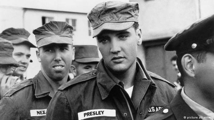 Elvis Presley in Germany (picture alliance /)