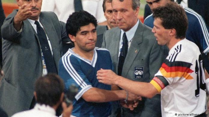 Soccer World Cup Final Germany - Argentina 1990