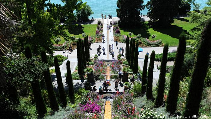 The Spanish Steps on Mainau Island on Lake Constance, Germany