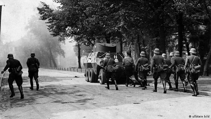 1939 год. Начало войны, нападение на Польшу