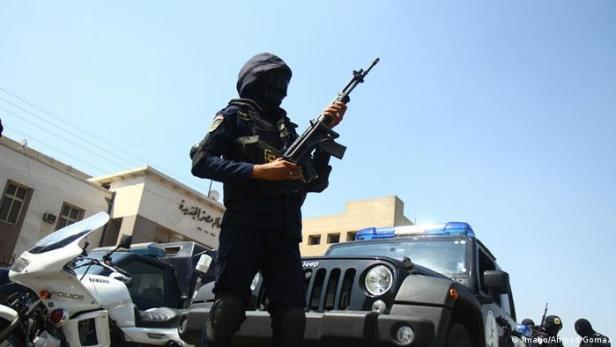 Policía en El Cairo, Egipcio