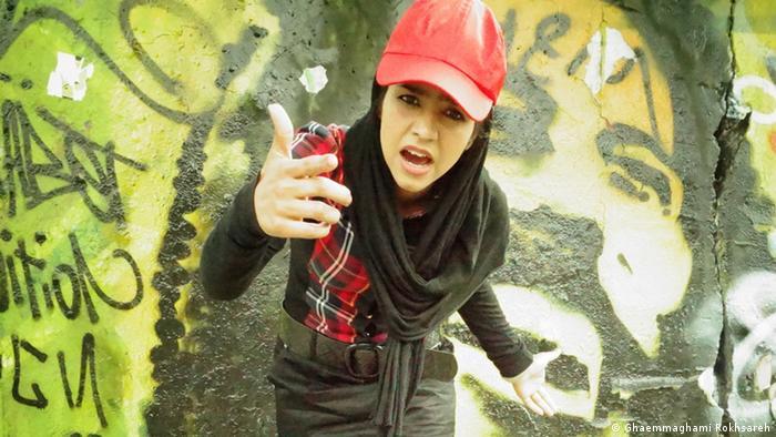 Rapperin Sonita Alizada