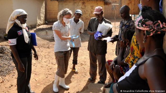 Guinea MSF Doctors Without Borders work against Ebola