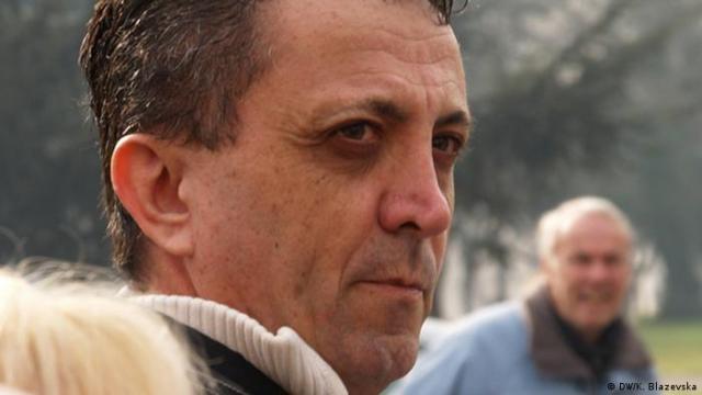 photo of a journalist from Macedonia Tomislav Kezharovsky