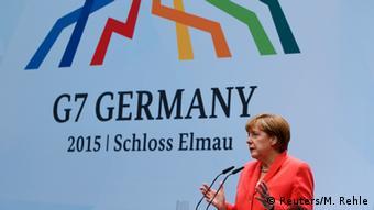 Στιγμιότυπο από τη γερμανική προεδρία στους G7 το 2015