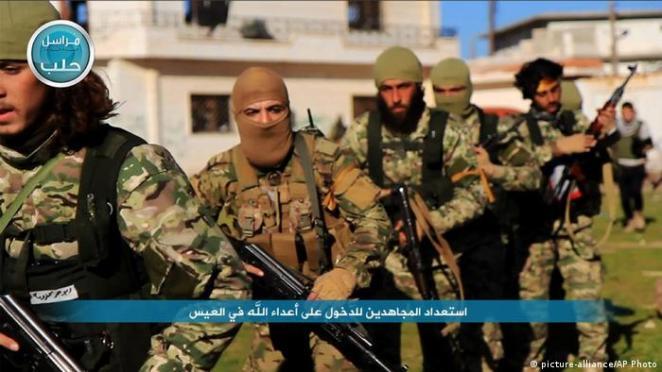 Nusra Cephesi'ne bağlı cihatçılar