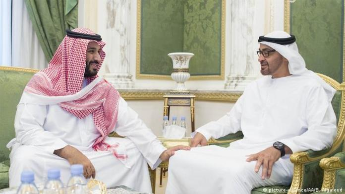 Saudi Crown Prince Mohammed bin Salman and his friend, Abu Dhabi Crown Prince Sheikh Mohammed bin Zayed