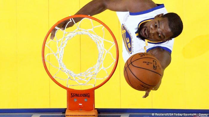 USA Basketball Golden State Warriors holen NBA-Titel Kevin Durant (Reuters/USA Today Sports/M. Davey)
