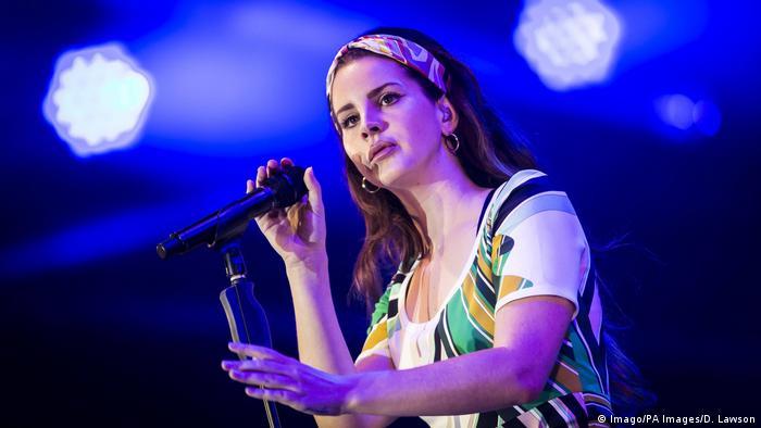 Singer Lana Del Rey (Imago/PA Images/D. Lawson)