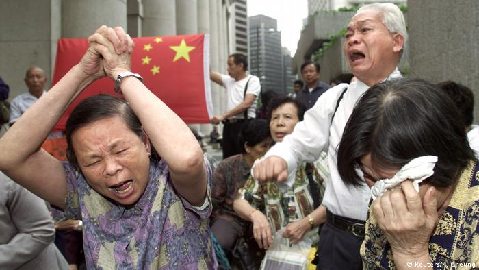 Hong Kong began deporting 4,000 Chinese who had lost legal battles to stay in the territory.