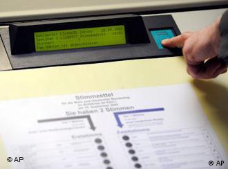 Urnas eletrônicas na Alemanha: inconstitucionais, segundo corte máxima