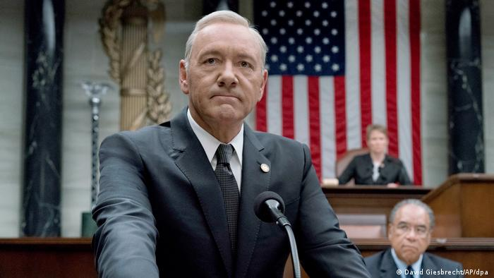 Actor Kevin Spacey in the Netflix series House of Cards (David Giesbrecht / AP / dpa)