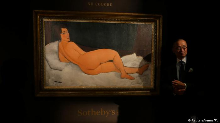 Sotheby's New York Auktion Modigliani-Gemälde Vorschau (Reuters/Venus Wu)